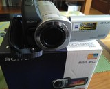 Cámara de vídeo Sony y trípode - foto