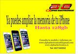 Ampliación de memoria de iphone - foto