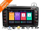 Radio para Mercedes w203 Viano Android 8 - foto