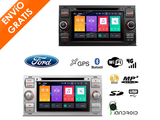 Radio CD Xtrons para Ford Android 8 core - foto