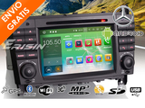 Radio GPS Android 7 Mercedes C W203 - foto