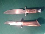 Dos machetes de caza - foto