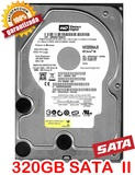 Western digital 320gb hd  sata ii  3.5@ - foto