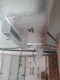 maquina + conductos aire acondicionado - foto