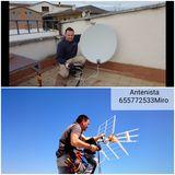 Antenas Astra , Hotbird , HELLASAT 2 , - foto