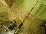 caña de pescar con carrete mitchell 410 - foto