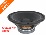 Altavoz 30cm diametro 400W 8Ohm Repuesto - foto