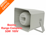 Bocina Rango Completo Línea 100V 50W - foto
