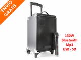 Sistema altavoz PA 130W + Micro mano - foto
