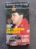 VHS CARLOS SAINZ CAMPEóN PRUDENTE 1990