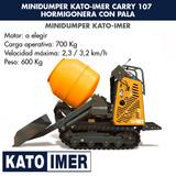 MINIDUMPER KATO-IMER CARRY107 HORMIGONER - foto