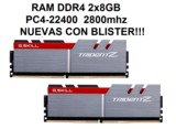 G.Skill Trident Z DDR4 PC4-22400 2x8GB - foto