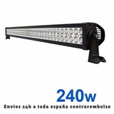 BARRA 240W LED MOD.  RECTA - foto