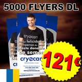 5000 flyers dl imprenta barata - foto