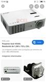 Proyector acer h5360bd+pantalla - foto