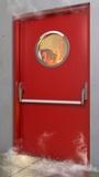 Instalación de puertas cortafuegos - foto