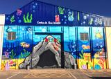 Graffiti mural - foto