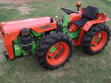 ACOPLE ESPECIAL Y  TRACTOR AGRIA 8900 DE - foto