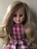 Muñeca kika, nancy, rubia, nueva. - foto