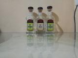 3 Botellas Vacias para decoracion Miel y - foto
