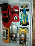 6 coches + 3 mandos - foto