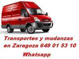 Mudanzas Zaragoza 649 01 53 10 - foto