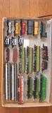 Vagones y locomotoras escala N - foto
