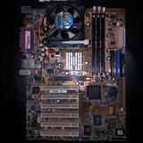 Placa base de ordenador - foto