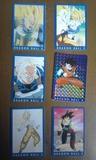LOTE 71 CARDS DRAGON BALL SERIE AZUL
