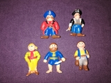 Lote Figuras pvc Piratas Soma - foto