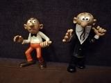 Figuras pvc Mortadelo y Filemon - foto