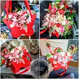 Cajas de flores personalizadas - foto