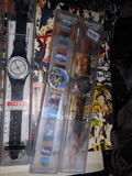 variedad relojes antiguos swatch - foto