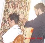 Barbero con desplazamiento para señores - foto