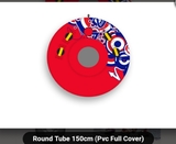 ROUND TUBE(1PERS) FULL COVER PVC INCHABL - foto