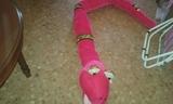 peluche gigante serpiente - foto
