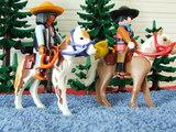 Playmobil mexicanos a caballo - foto