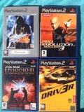 lote 4 juegos PS 2 - foto