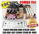 PACK 754  2GB RAM  120HD AMD 2800+ WIN7 - foto