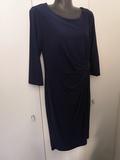 Vestido azul talla S - foto