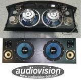 Audiovision bandejas de coche 10p 600w - foto