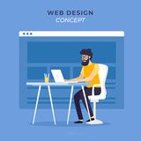 Programador web freelance - foto