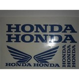 KIT LAMINA HONDA STICKER VINILOS CASCO - foto