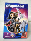 Playmobil medieval guerrero lobo espada - foto