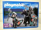 Playmobil medieval caballeros águila - foto