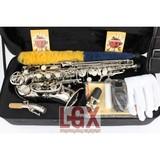 Vendo saxofon soprano curvo plata - foto