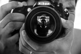 Fotógrafo a domicilio, estudio portátil - foto