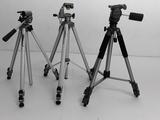 trípodes de calidad HAMA y Velbon - foto