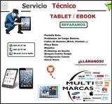 Reparación Profesional Tablet Ipad Ebook - foto