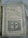 TRATADO CLÁUSULAS PERGAMINO SIGÜENZA1705 - foto